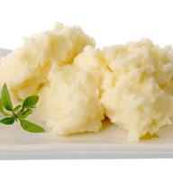 Пюре картофельное с маслом Фото