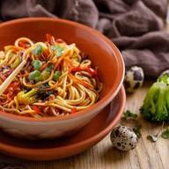 Овощи в устричном соусе Фото