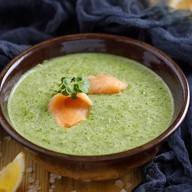 Шпинатный крем-суп Фото