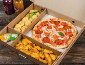 Комбо пицца + закуски №8 - Фото