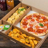 Комбо пицца + закуски №8 Фото