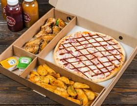 Комбо пицца + закуски №9 - Фото