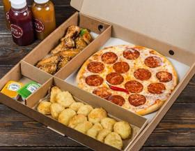 Комбо пицца + закуски №7 - Фото