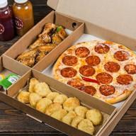 Комбо пицца + закуски №7 Фото