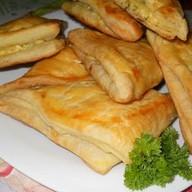 Хачапури с сыром (слоеное) Фото