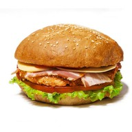 Императорский куриный бургер Фото