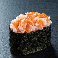 Суши гункан креветка Фото