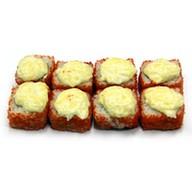 Запеченный Акиро с сырным соусом Фото