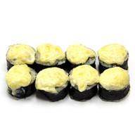 Запеченный Сяке с сырным соусом Фото