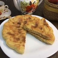 Пирог с яблоком, грецким орехом, корицей Фото