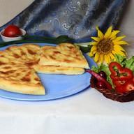 Пирог с картофелем, зеленью и сыром Фото
