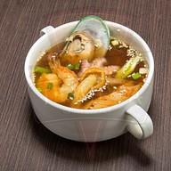 Суимоно с морепродуктами (острый) Фото