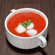 Суп-пюре томатный Фото