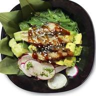 Поке с угрём и авокадо Фото