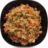 Рис с бараниной и ким-чи Фото