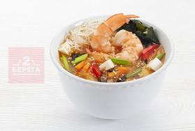 Большой суп с креветками - Фото