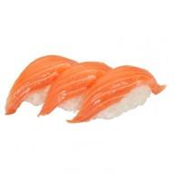 3 суши с лососем Фото