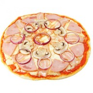 Пицца Карбонара Фото