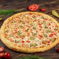 Пицца с шашлыком из курицы Фото