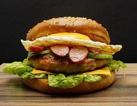 Бургер 10 Люкс - Фото