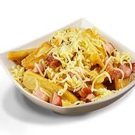 Картофель с беконом и сыром Фото