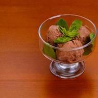 Шоколадный пломбир Фото
