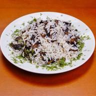Рис с шампиньонами Фото