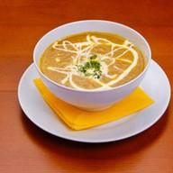 Суп-пюре из белых грибов Фото
