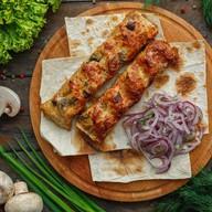 Люля-кебаб из курицы и грибов Фото