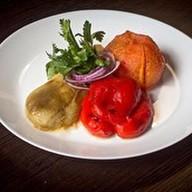 Овощи печеные Фото