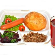 Комплекс ланч с сосиской гановерской 3 Фото
