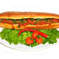 Мега сендвич с люля на выбор Фото