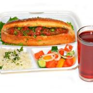 Комплекс ланч с люля-кебаб на выбор 3 Фото