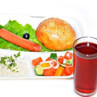 Комплекс ланч с сосиской гановерской 4 Фото