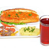 Комплекс ланч с хот-догом 2 Фото