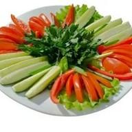 Овощная нарезка Фото