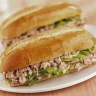 Сендвич с салатом в ассортименте Фото