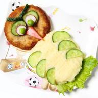 Капитошка с картофельным пюре Фото