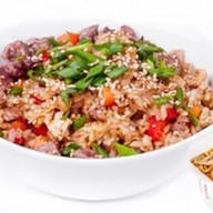 Рис с телятиной и овощами Фото
