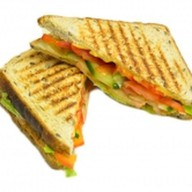 Сэндвич овощной Фото