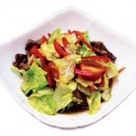 Салат телятина с овощами Фото