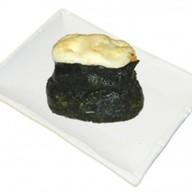Запеченный гункан с креветкой Фото