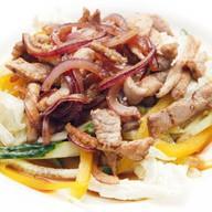Салат из свинины Фото