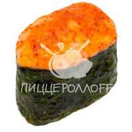 Запеченное суши с лососем Фото
