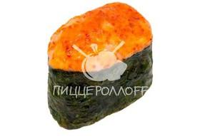 Запеченное суши с креветкой - Фото