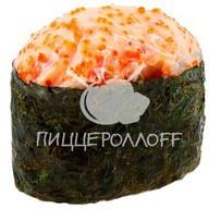 Острое суши с лососем Фото