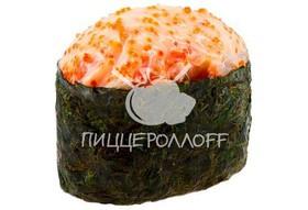 Острое суши с креветкой - Фото