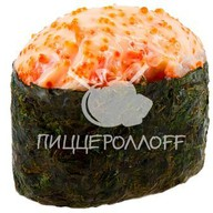 Острое суши с угрем Фото