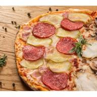 Пицца двойная Фото