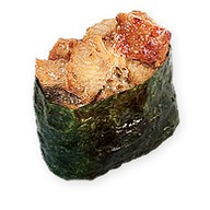 Суши с острым угрем Фото